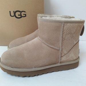 Classic Mini UGG Boots Size 8